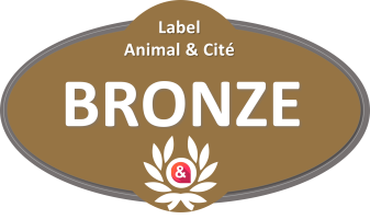 Label Animal&Cité BRONZE