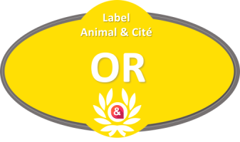 Label Animal&Cité OR